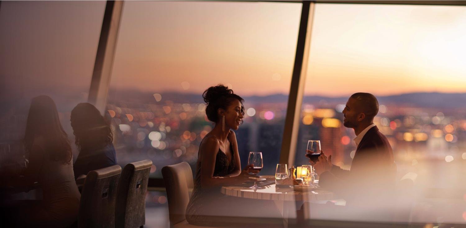 Dining at The STRAT Hotel, Casino & Skypod
