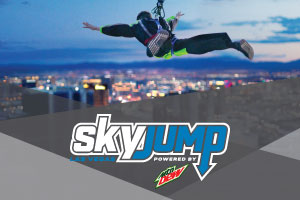 SkyJump powered by Mountain Dew