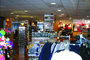 Tower Gift Shop interior