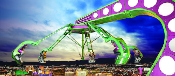 Thrill Rides at The STRAT Hotel, Casino & Skypod