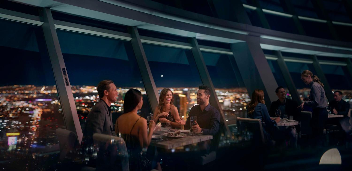 Group Dining at Top of The World